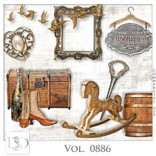 Vol. 0886 Vintage Mix by D's Design