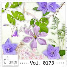 Vol. 0173 Spring Nature Mix by Doudou Design