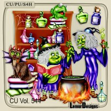 CU Vol 544 Halloween by Lemur Designs