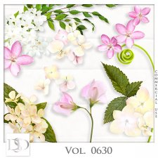 Vol. 0630 Nature Floral Mix by D's Design