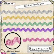 Ric Rac Recoloured by Cida Merola