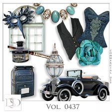 Vol. 0437 Vintage Mix by D's Design