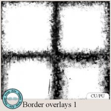 Border Overlays 1 by Happy Scrap Arts