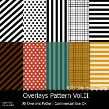 Overlays Pattern Vol.II by Cida Merola