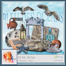 Vol 156 Sea Elements EXCLUSIVE bymurielle