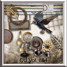 Vol. 884 Steampunk Mix by Doudou Design