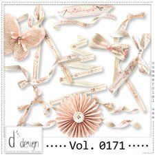 Vol. 0171 HandMade Ribbons Mix by Doudou Design