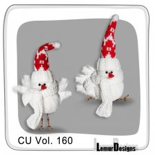 CU Vol 160 Christmas Winter Birds by Lemur Designs