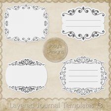 Layered Journal Templates 13 by Josy