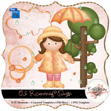 Rainy Day Elements by Peek a Boo Designs