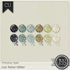 Just Relax Glitter PS Styles by Just So Scrappy