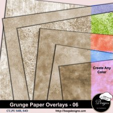 Grunge Paper Overlays 06 by Boop Designs
