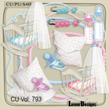 CU Vol. 793 Baby Mix by Lemur Designs