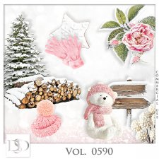 Vol. 0590 Winter Mix by D's Design