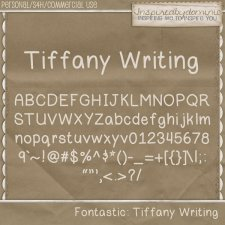 Tiffany Writing Font