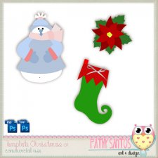 Template Christmas 01 by Pathy Design