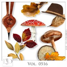 Vol. 0515 to 0518 Autumn Nature Mix by D's Design