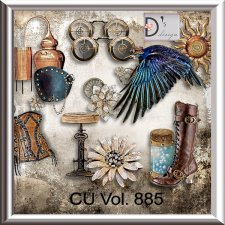 Vol. 885 Steampunk Mix by Doudou Design