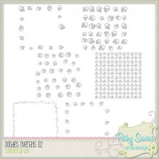 Doodles Cup Cake Overlay by Pathy Design