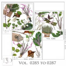 Vol. 0285 to 0287 Nature Mix by D's Design