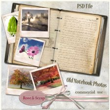Old Notebook Photo by Rose.li