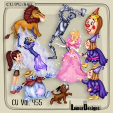 CU Vol 455 Magic Fairy by Lemur Designs
