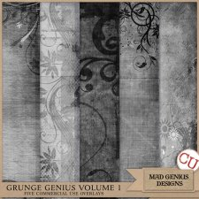 Grunge Genius Volume One by Mad Genius Designs