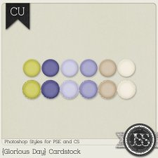 Glorious Day Cardstock PS Styles by Just So Scrappy