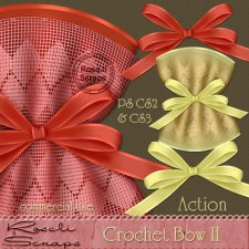 Action - Crochet Bow II by Rose.li