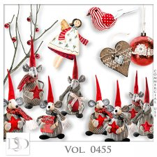 Vol. 0455 Winter Christmas Mix by D's Design