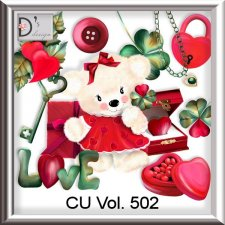 Vol. 502 Love Pack by Doudou Design