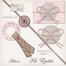 Action - Kit Eyelets by Rose.li