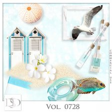 Vol. 0728 Summer Sea Mix by D's Design