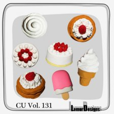 CU Vol 131 Cake food by Lemur Designs