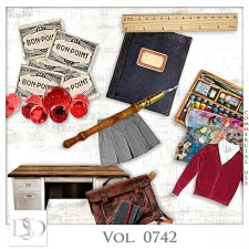 Vol. 0741 to 0743 School Mix by D's Design