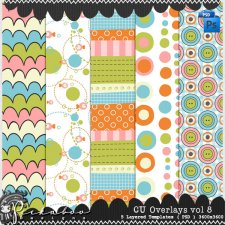 Overlay Pattern Paper Template 08 by Peek a Boo Designs