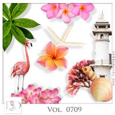 Vol. 0709 Tropical Sea Mix by D's Design