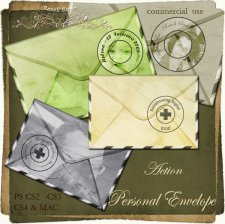 Action - Personal Envelope by Rose.li