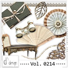 Vol. 0212 to 0215 Vintage Mix by Doudou Design