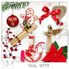 Vol. 0779 Winter Christmas Mix by D's Design