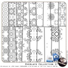 Overlays Collection 17 by MoonDesigns