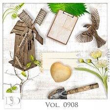 Vol. 0908 Spring Nature Mix by D's Design