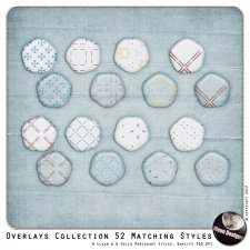 Overlays Collection 52 Matching Styles by MoonDesigns