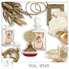 Vol. 0545 Vintage Mix by D's Design