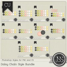 Daisy Chain PS Styles Bundle by Just So Scrappy
