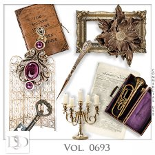 Vol. 0693 Vintage Mix by D's Design