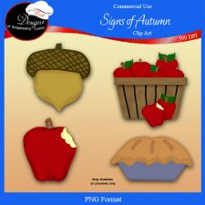 Autumn Days - CU Clipart By Boop Designs