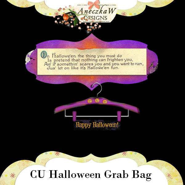 Halloween Grab Bag by AneczkaW