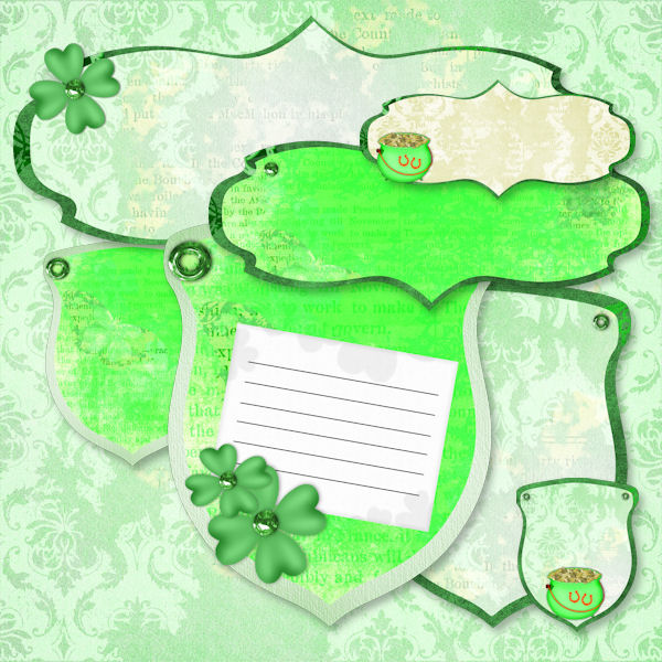 St Patrick Day Labels