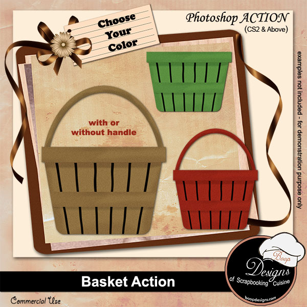 Basket ACTION by Boop Designs